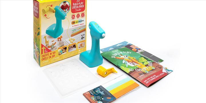 Çocuklar için dinamolu 3D yazıcı