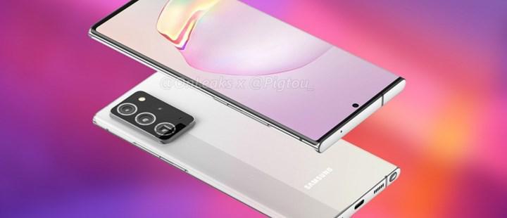 Galaxy Note 20 Ultra'nın yüksek çözünürlüklü fotoğrafları paylaşıldı