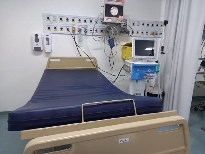 Yerli solunum cihazları, Brezilya hastanelerinde görüntülendi