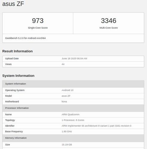 Asus ZenFone 7 geliyor: Snapdragon 865 ve 16 GB RAM
