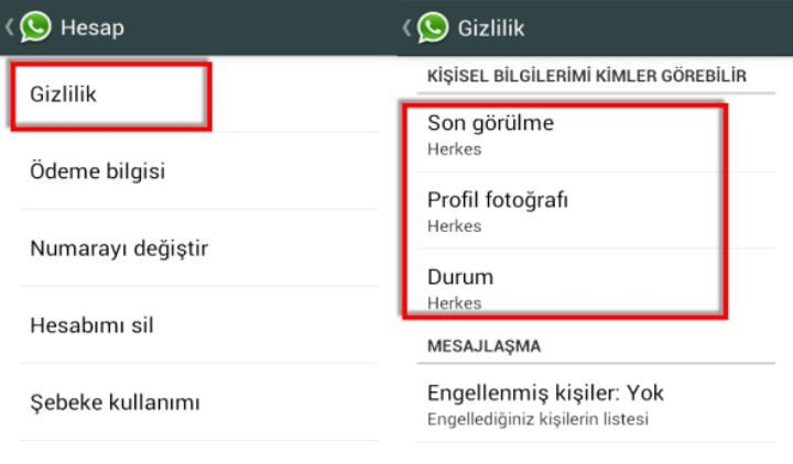 WhatsApp son görülme özelliği ortadan kayboldu (Güncelleme)