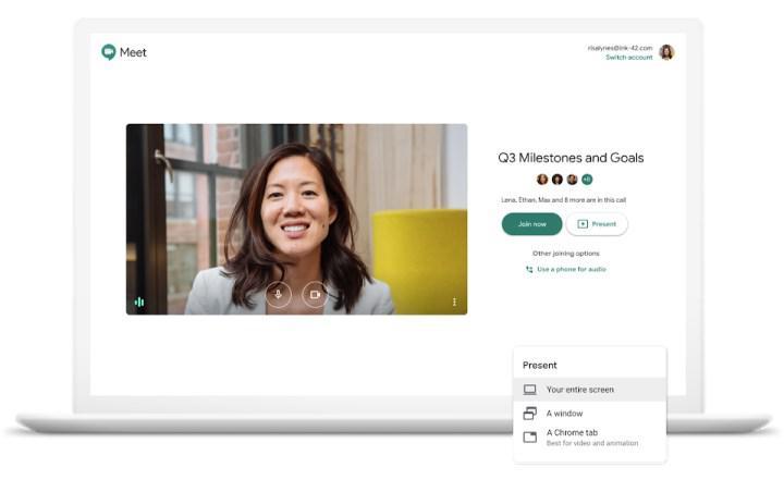 Google Meet resmi olarak arka plan bulanıklaştırma ve efektlere sahip oldu
