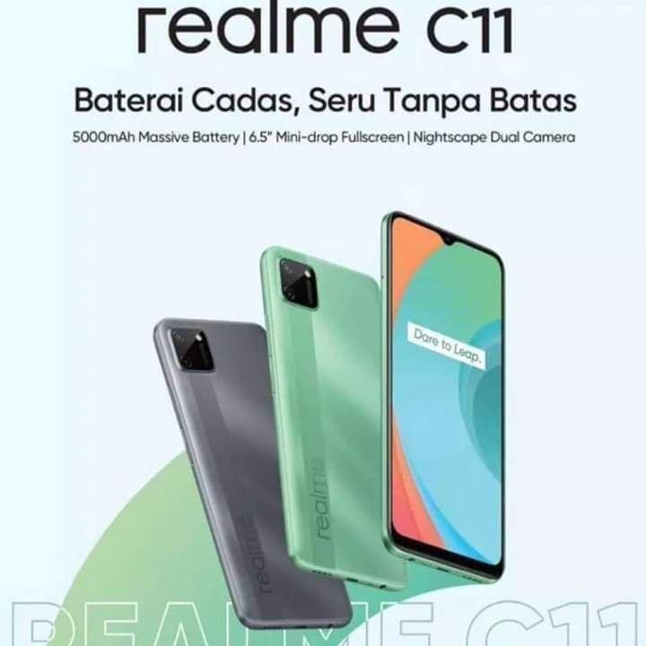 Realme C11'in ilk görüntüsü ortaya çıktı