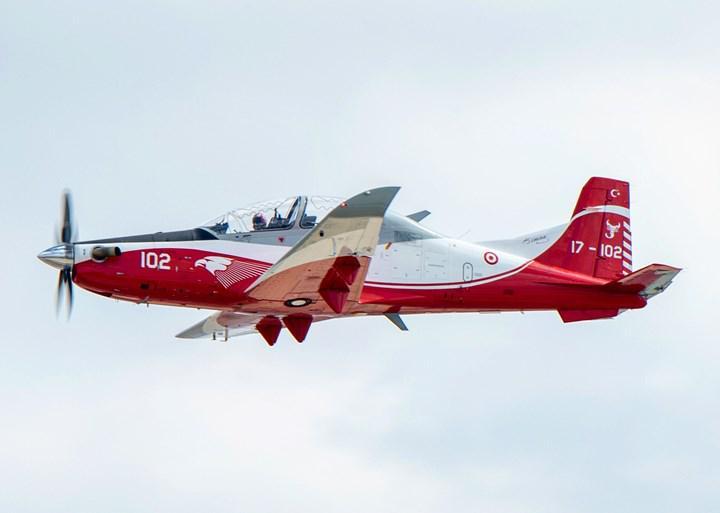 Test uçuşu yapan HÜRKUŞ eğitim uçağı düştü