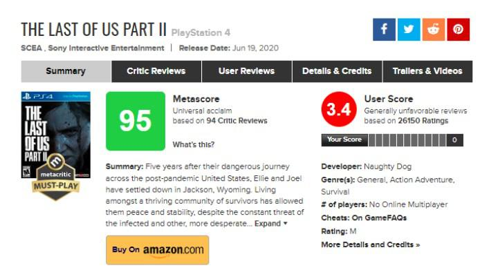 The Last of Us Part II, inceleme bombardımanı rüzgârından nasibini aldı