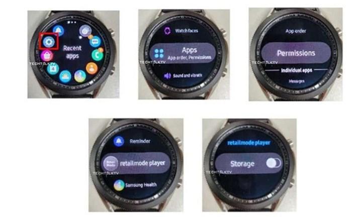 Galaxy Watch 3'ü çalışırken gösteren fotoğraflar sızdırıldı