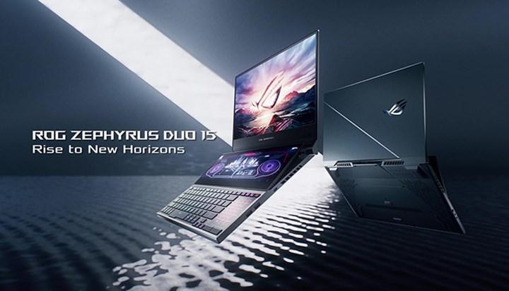 Çift ekranlı Asus ROG Zephyrus Duo 15 satışa çıkıyor