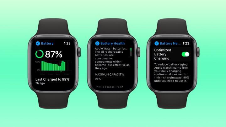 İyileştirilmiş pil şarjı özelliği Apple Watch ve AirPods modellerine geliyor