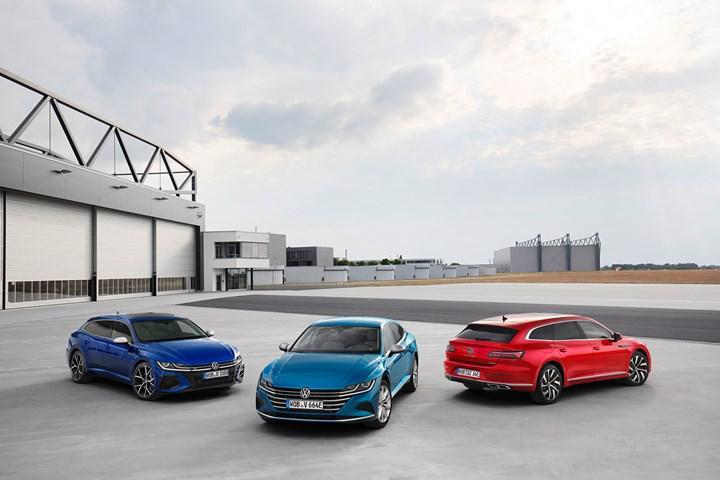 2020 Volkswagen Arteon tanıtıldı: Station wagon gövde tipi, güçlü R versiyon ve plug-in hibrit motor