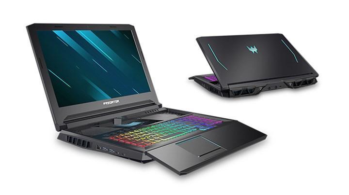 Kızaklı klavyeye sahip Acer Predator Helios 700 güncellendi