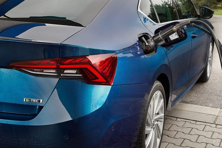 2020 Skoda Octavia'nın sıkıştırılmış doğal gazla çalışan versiyonu tanıtıldı