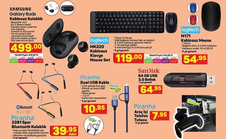 Haftaya A101 marketlerde Galaxy Buds ve ŞOK marketlerde Xiaomi elektrikli scooter var