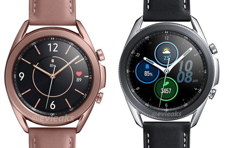 Galaxy Watch 3'ün yüksek kaliteli görselleri yayınlandı