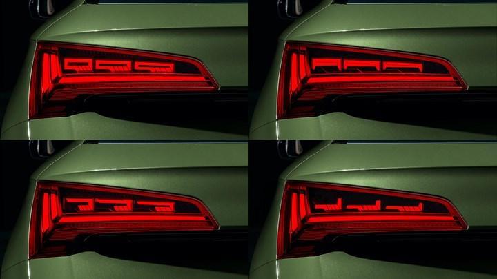 Makyajlı Audi Q5, hafif hibrit teknolojisi ve OLED stoplarla geldi