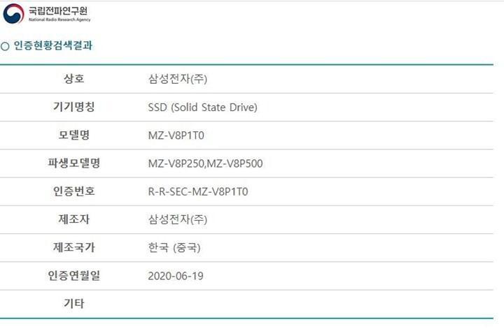Samsung 980 PRO SSD sertifika onaylarını tamamladı
