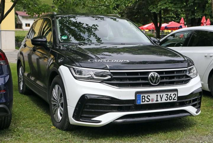 Makyajlı Volkswagen Tiguan kamuflajsız görüntülendi