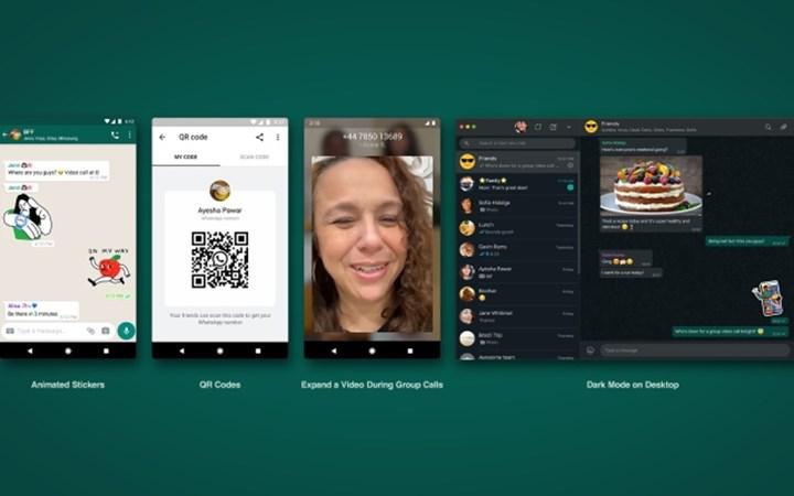 WhatsApp platformunda karekod ile arkadaş ekleme dönemi