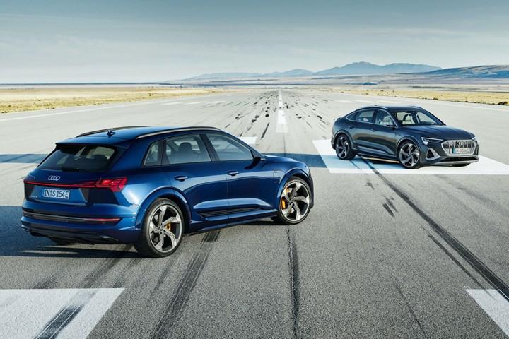 Audi, üç elektrik motoruna sahip e-tron S ve e-tron S Sportback'i tanıttı