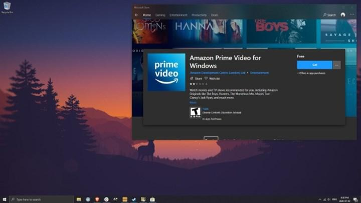 Prime Video Win10 uygulaması ile içerikleri bilgisayara indirmek artık mümkün