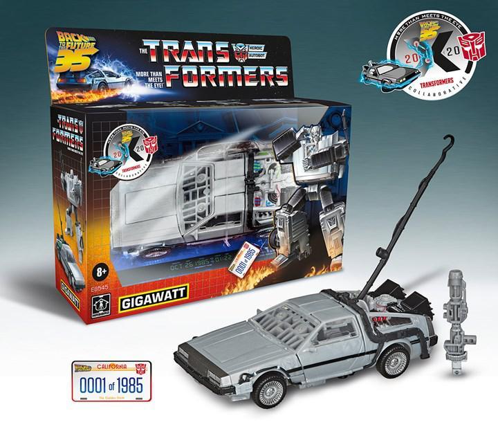 Geleceğe Dönüş filmi Transformers ile buluştu