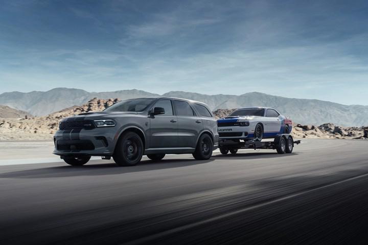 Dodge Durango SRT Hellcat, 'şimdiye kadarki en güçlü SUV' iddiasıyla tanıtıldı
