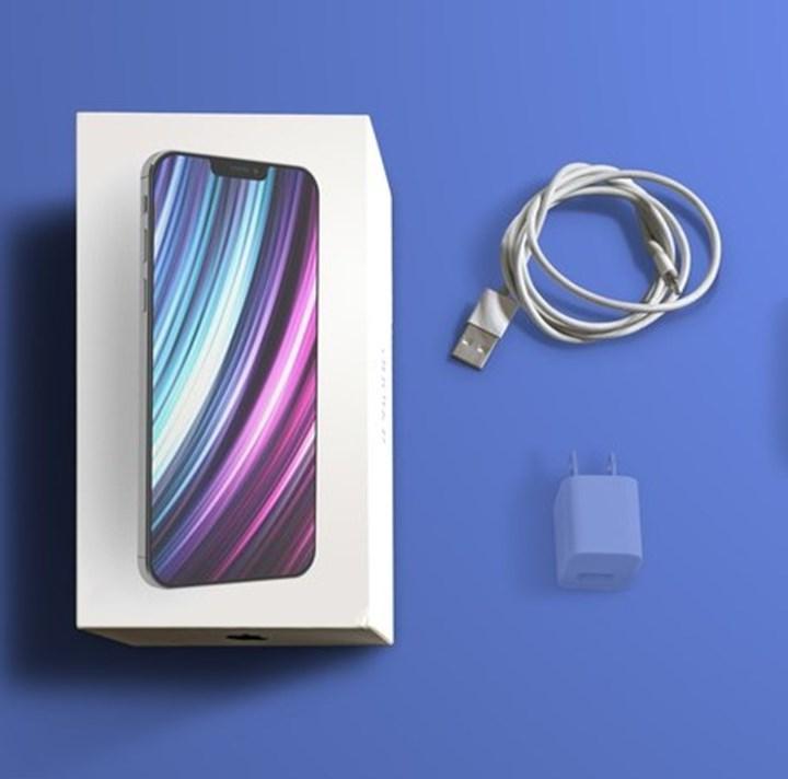 Apple, iPhone 12 kutu içeriği için anketle nabız yokluyor