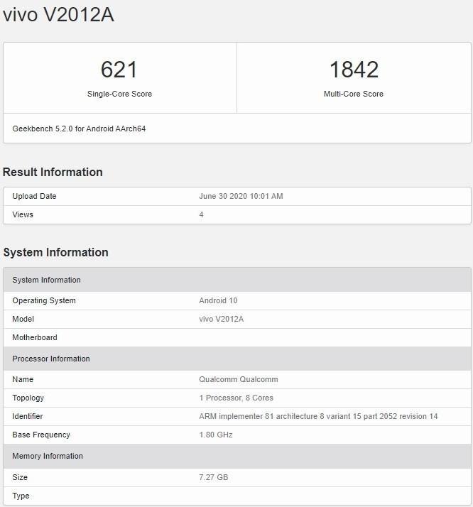 iQOO Z1x, TENAA veritabanında ortaya çıktı