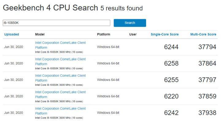 Intel uygun fiyatlı Core i9-10900K hazırlığında