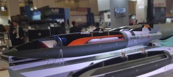 Beton delici uçak bombası SARB-83, seri üretime hazır