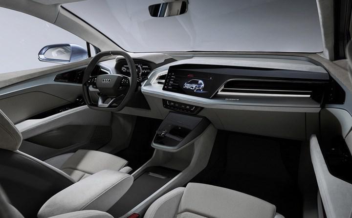 Elektrikli Audi Q4 Sportback e-tron konsepti tanıtıldı: 500 km'ye kadar menzil