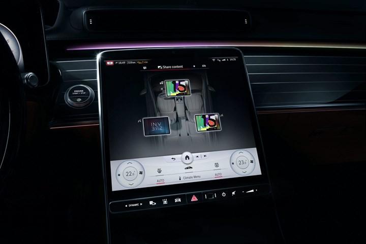 2020 Mercedes-Benz S-Serisi'nin yeni MBUX bilgi-eğlence sistemi tanıtıldı