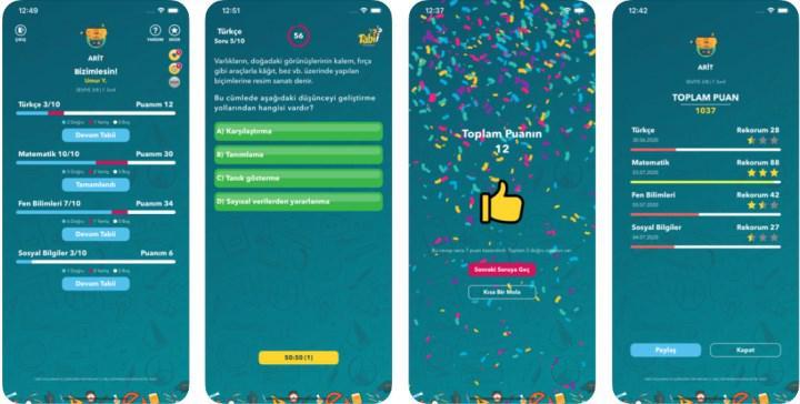 MEB'den eğlenceli ve eğitici mobil uygulama: Tabii