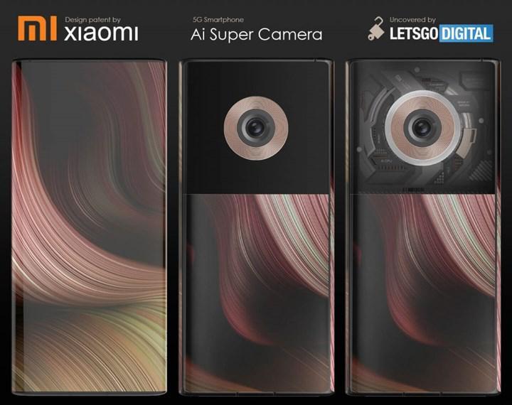 Xiaomi'ye ait sıra dışı bir akıllı telefon tasarımı ortaya çıktı