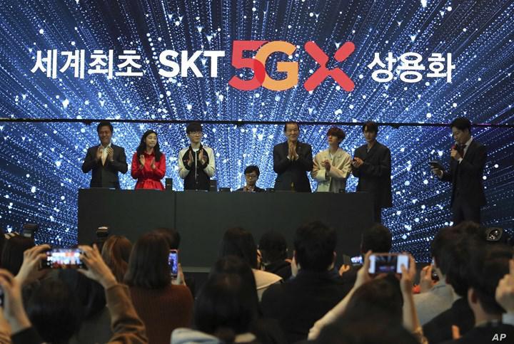 Güney Kore'de 7 milyon 5G abonesi var