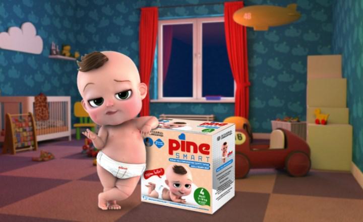 Dünyanın ilk akıllı bebek bezi Pine Smart satışa çıktı