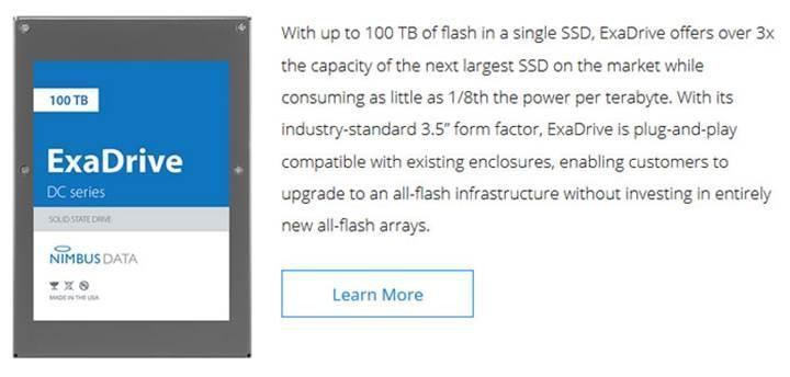 100TB kapasiteli SSD 280 bin TL'ye sizin olabilir
