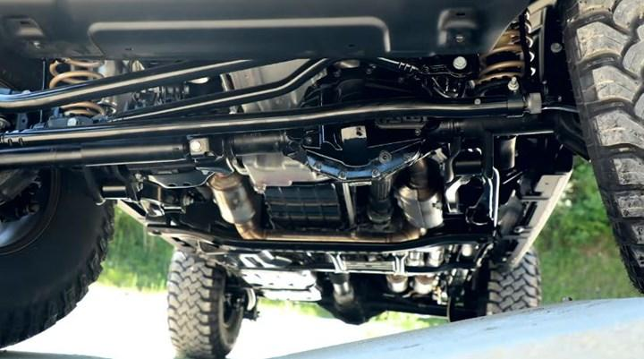 450 beygirlik V8 motorlu Wrangler Rubicon 392 Concept tanıtıldı
