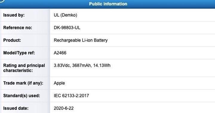 iPhone 12 serisinin pil kapasitesi ortaya çıktı