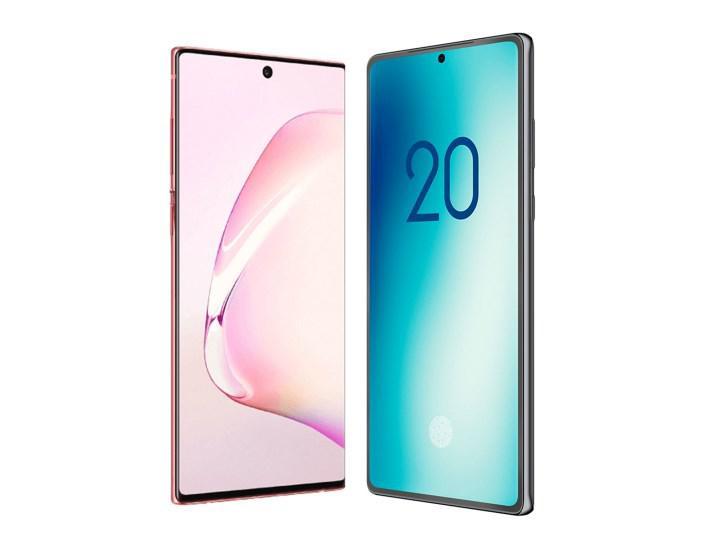 Samsung Galaxy Note 20'nin tasarımı ortaya çıktı