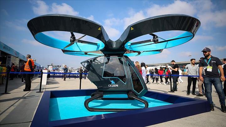 Yerli uçan araba Cezeri'nin prototipi görücüye çıktı