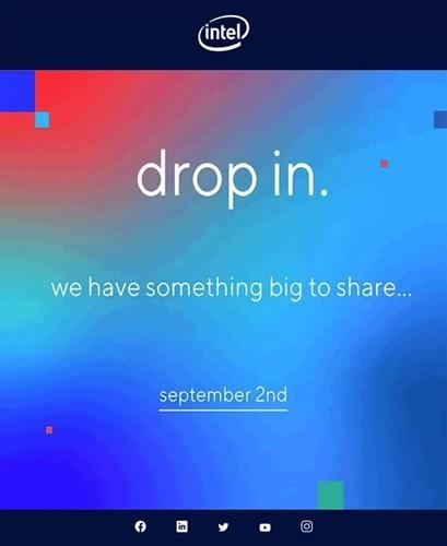 Intel 2 Eylül'de önemli bir şey paylaşacak