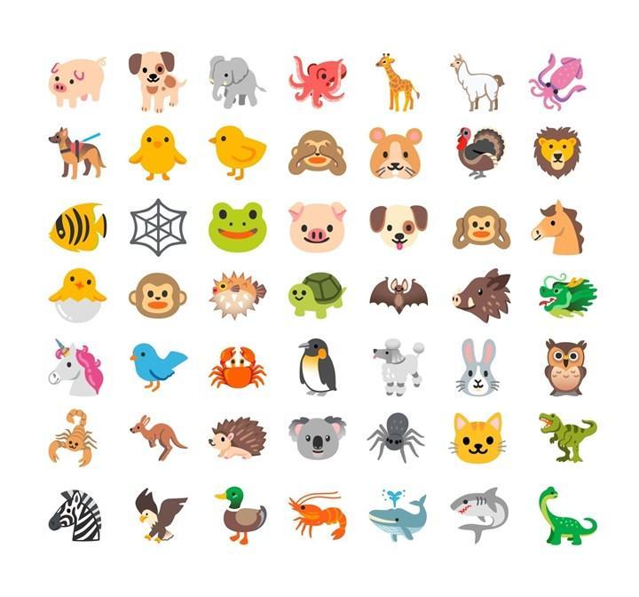 Apple ve Google yeni emojilerini tanıttı