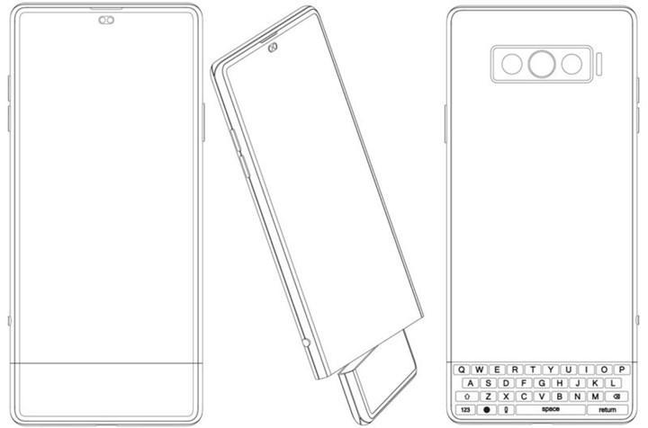 Vivo, ekran işlevi de gören fiziksel klavyeli telefon patenti aldı