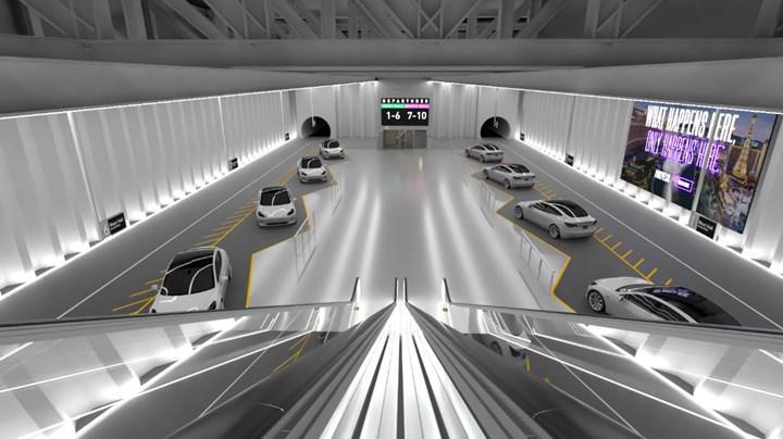Boring Company'nin inşa ettiği tünellerde ulaşımın hangi araçlarla sağlanacağı netleşti