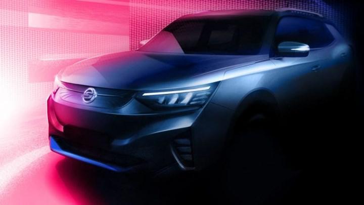 Elektrikli SsangYong Korando SUV'dan ilk teaser geldi