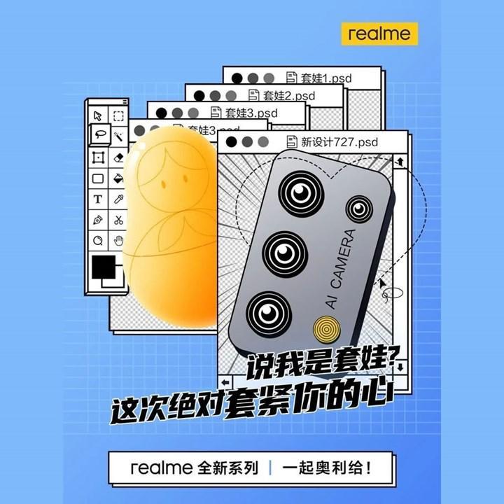 Realme yeni amiral gemisi telefonunun kamera tasarımını paylaştı