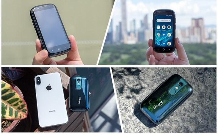 Dünyanın en küçük Android 10 4G telefonu ile tanışın
