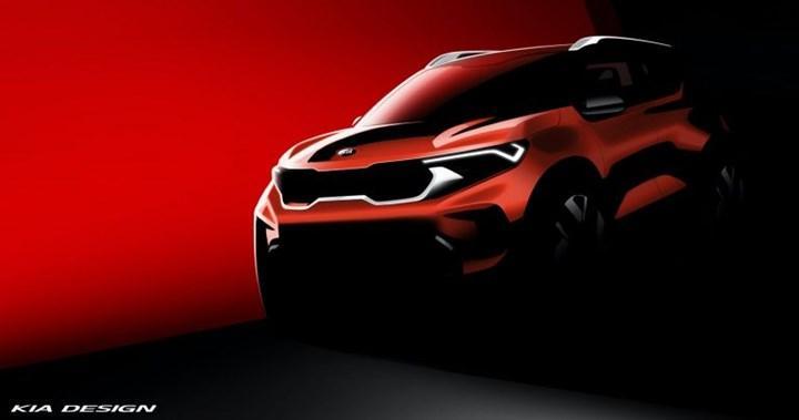 Kia'nın yeni kompakt SUV modeli Sonet'ten ilk teaser geldi