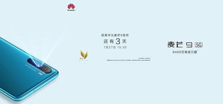 Huawei Maimang 9'un lansman tarihi açıklandı