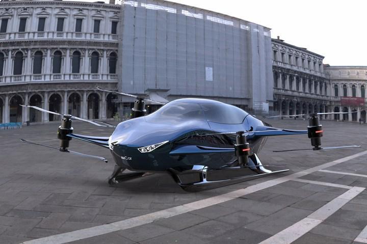 Uçan araba Air Car, 2025'te İstanbul semalarında uçmayı hedefliyor